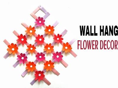 Wall Hanging Flower Decoration - DIY Tutorial - 40