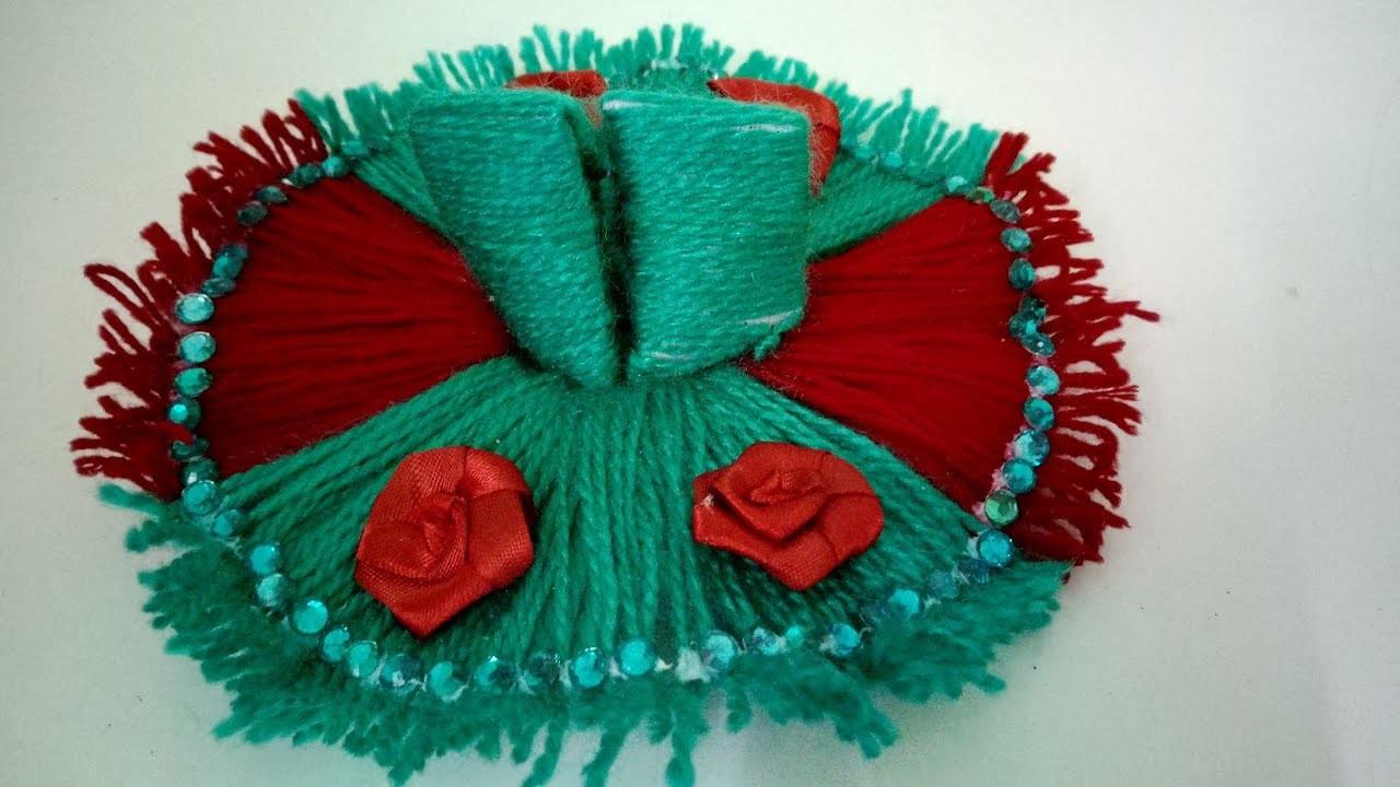 Woolen dress For Bal Gopal (No sew No crochet)  How To   CraftLas