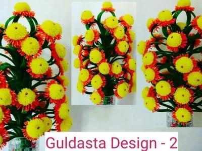 Woolen Guldasta || How to make Sun Flower Guldasta|| Best use of X-Ray