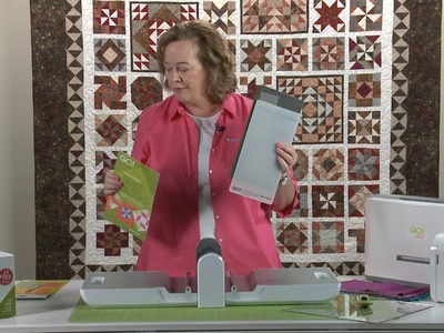 Batik Sampler BOM - Lesson 1 of 11 - How to Use an AccuQuilt GO! Cutter