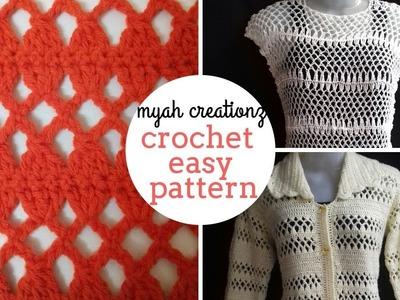 Crochet easy pattern.crochet bunai | hindi tutorial english subtitles