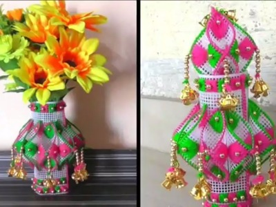 Diy - How to make Vase For Decoration At Home || Handmade Decoration Ideas
