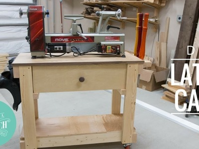 DIY Lathe Cart from 2x4's. Woodworking How-to