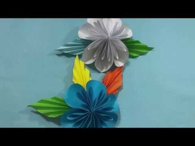 Kusudama how to make a paper kusudama flower learn easy origami diy paper craftshow to make a kusudama paper flower easy mightylinksfo