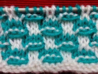 Double Colour Knitting Pattern for Sweater #88