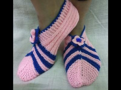 Easy Knitting Socks For Ladies.Girls|Hindi