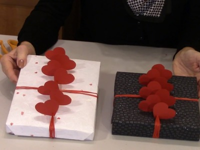 Gift Wrapping by Elaine How to Wrap a Valentine Gift