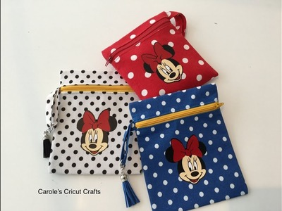 HOW TO. Disney Style Wallets