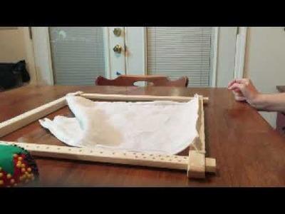 How to Dress a Slate Frame