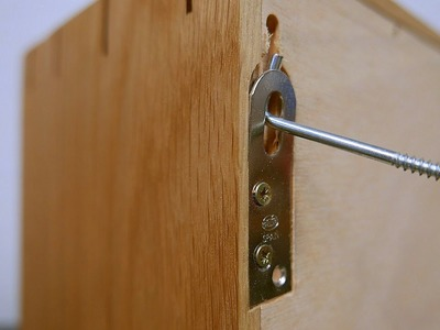 How to install concealed cabinet hanger