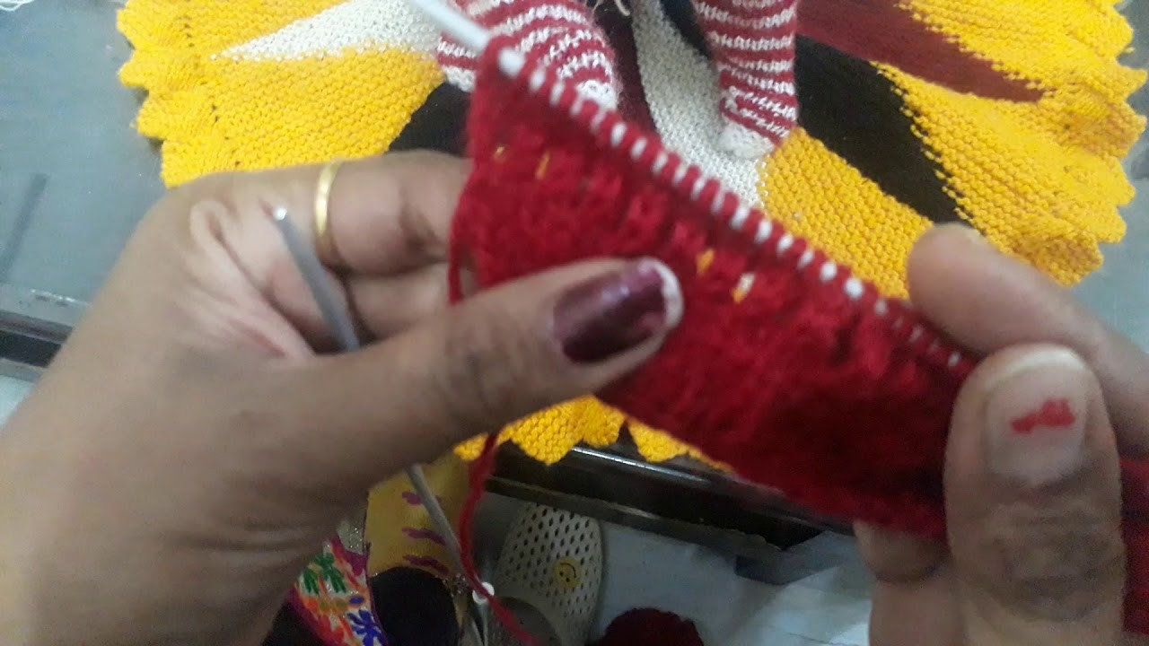 How to knit bal gopal woollen hat at home part (3)(1)