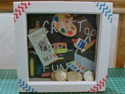 How To Make A Box Frame Money Box
