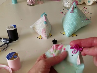 How to make a chicken pincushion part one