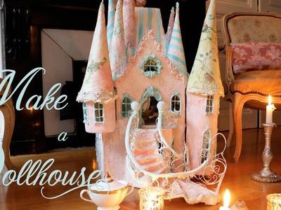 HOW TO MAKE A DOLLHOUSE  - Workshop  | Merveilles en Papier