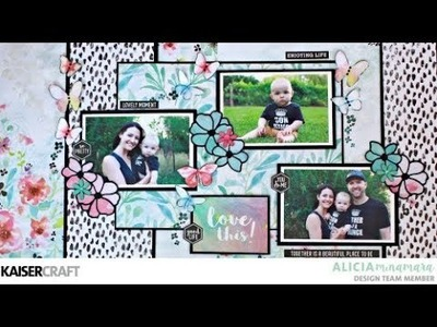How to Make a Double Scrapbooking Layout