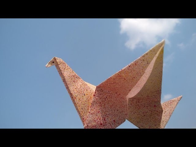 How To Make A Paper Origami Flapping Bird The Easiest Diy