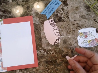 How to make a quick and easy Birthday card with Sweet Soiree