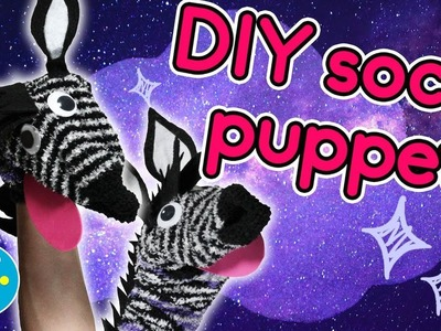 How to Make a Silly Sock Puppet - Crafty Cloud