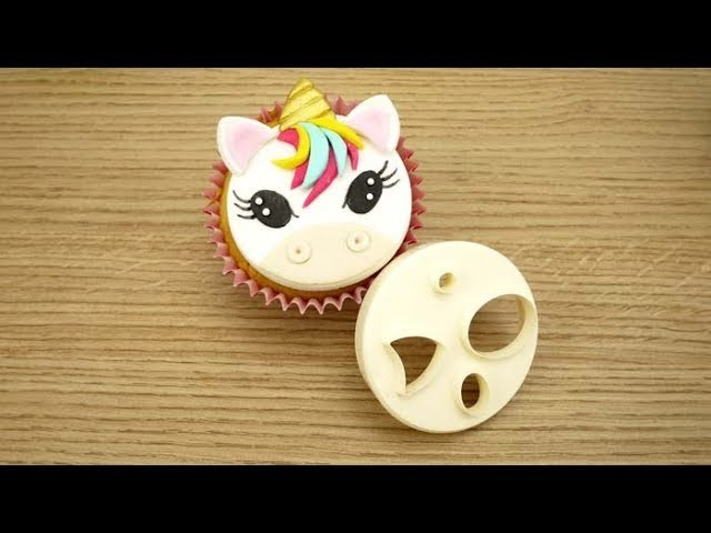 How To Make A Sugar Unicorn Using The FMM Mix 'n' Match Face Cutter