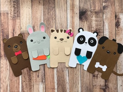 How To Make Animal Bookmarks | Your Next Stamp | Stamp Create Repeat
