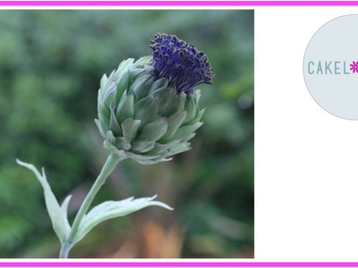 How to make Artichoke out of Clay or Gumpaste: Modern Sugar and Cold Porcelain Flowers