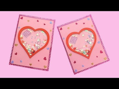 How to Make Easy Valentine's Day Shaker Card
