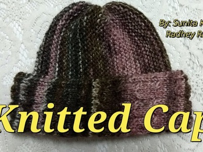 How To Make Knitted Cap (Adult)(Size-Medium)very easy