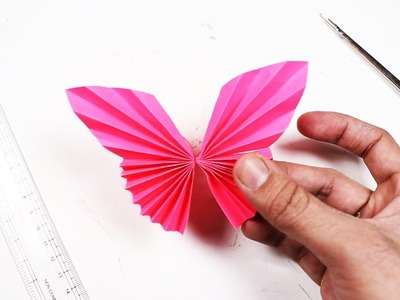 How to Make Paper Butterfly – Paper Butterfly Craft Tutorial