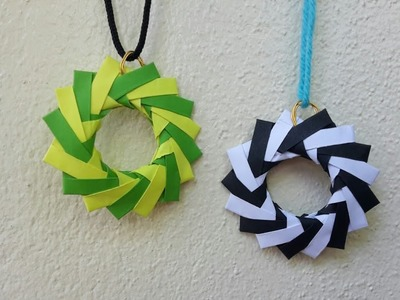 How to make paper jewellery