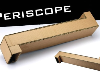 How To Make Periscope Using Cardboard at Home Making Tricks
