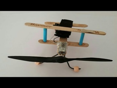 How To Make Propeller Plane