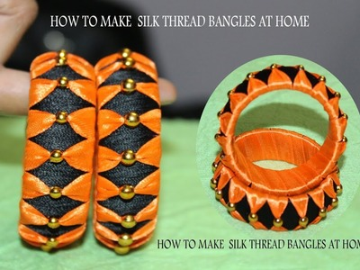 How To make Silk thread Bengals at home,