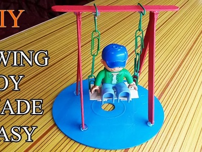 How to Make swing set swings Toy for your Children | Swingset