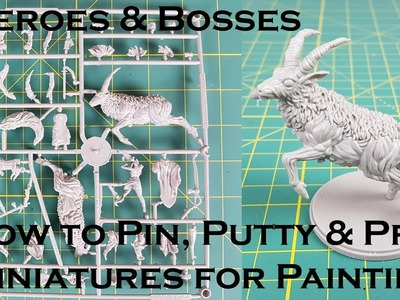 How to Pin & Prep Miniatures for Painting