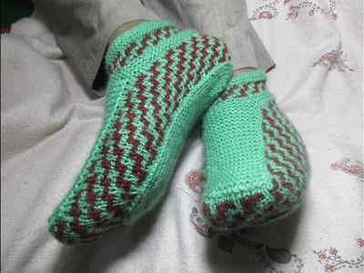 Knitting Ladies Boot[Hindi]