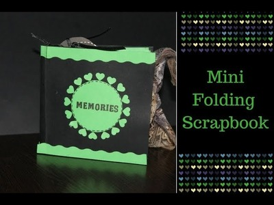 Mini Folding Scrapbook | DIY Scrapbook (Memories) By Neet's Creations