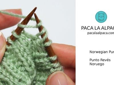 Norwegian Purl - Knitting