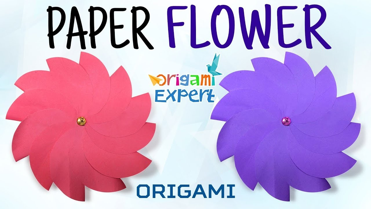 Origami flower how to make easy origami flowers origami flowers video origami flower how to make easy origami flowers origami flowers video mightylinksfo