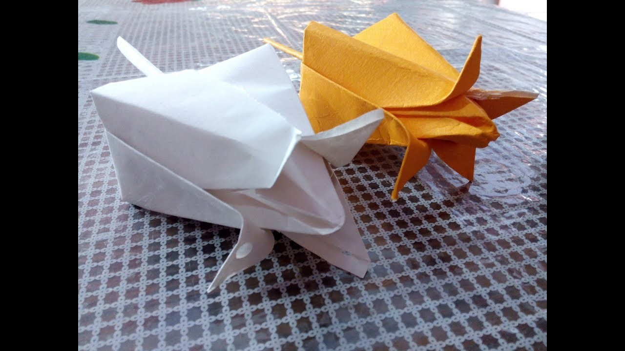 Origami Lotus Flower How To Make Lotus Flower With Paper Very