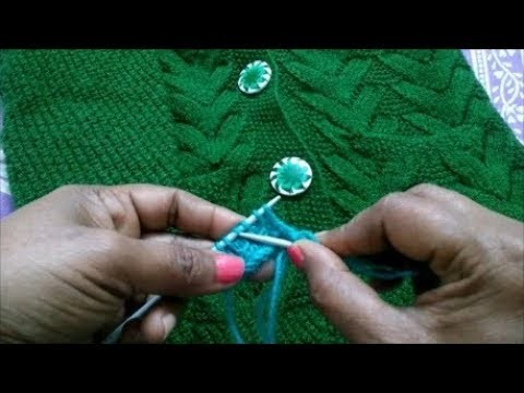 Single Colour Knitting Pattern #94