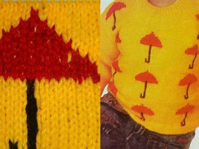 Umbrella Design for Kids in Hindi.Sweater Design for Kids.Knitting Videos:Design-103