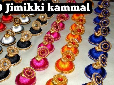 100 Jimikki Kammal. How to make Jimikki kammal at home | Hand craft jewelry factory