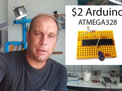 $2 Arduino The ATMEGA328 as a stand alone  Easy, cheap and very small  A complete guide
