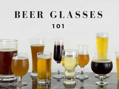 An Easy Guide to Different Craft Beer Glasses & What to use them for