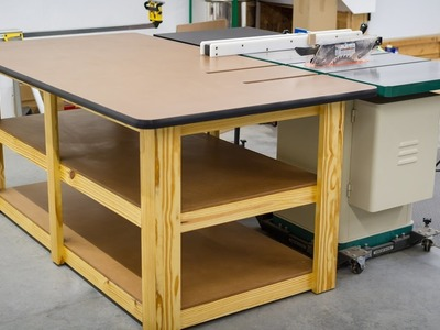 Build a Workbench. Outfeed Table