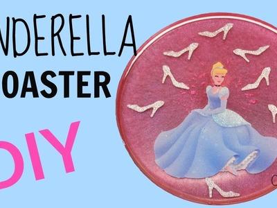 DIY Disney Princess ~ Cinderella Coaster ~ Another Coaster Friday ~ Craft Klatch