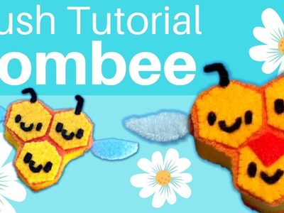 DIY: Felt Combee Pokemon Plush Tutorial | Free Pattern!