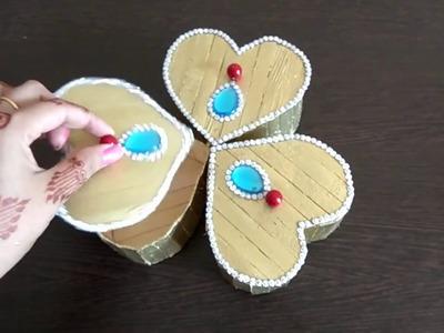DIY | Popsicle Craft | Dry Fruit Box with Ice cream stick for Diwali | Jewellery box | Storage box