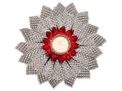 Candle Diy T Light Candle Holder Diwali Craft Crafty Zilla Diy