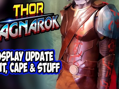 DIY Thor Ragnarok Costume Cosplay Part 2 paint & stuff
